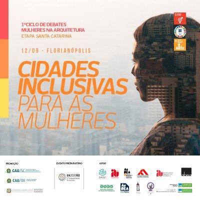 Ciclo de debates cidades inclusivas para mulheres